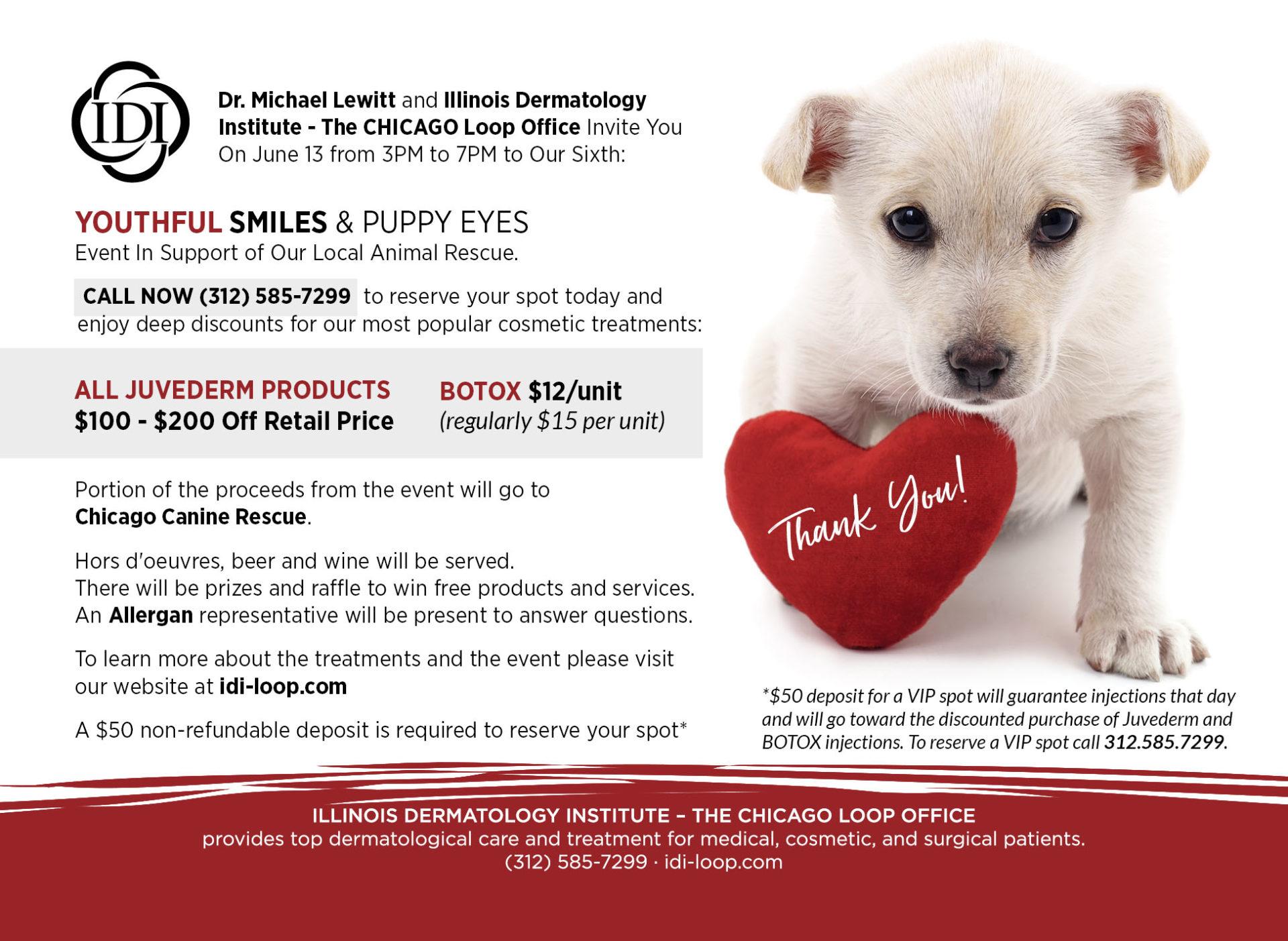 Idiloopjune13postcard45625backv1 Chicago Canine Rescue