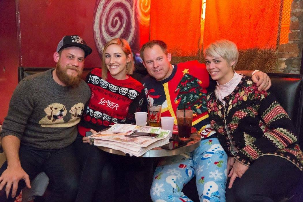 Ugly Sweater Christmas.Crisp Ugly Sweater Christmas Party